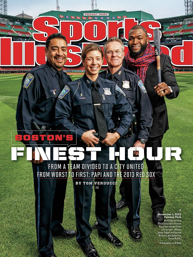 Bostons Finest Hour From A Team Divided To A City United Sports Illustrated Cover Photograph by Sports Illustrated
