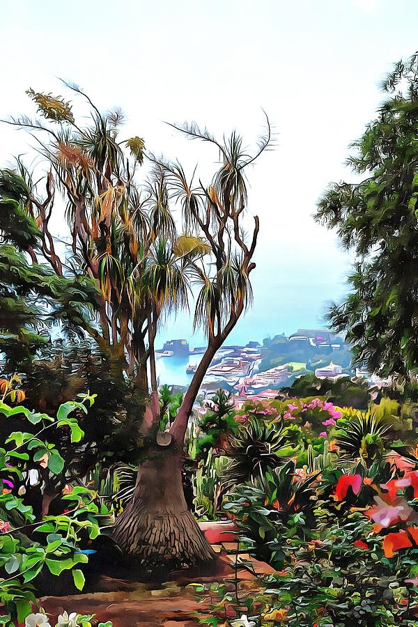 Botanic Garden View Madeira by Dorothy Berry-Lound