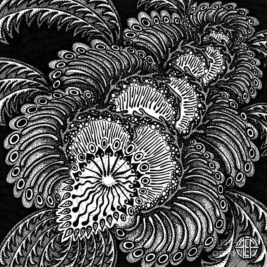 Botanical Bioform 3 by Amy E Fraser