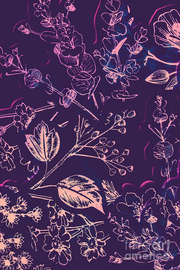 Illustration Photograph - Botanical Branching by Jorgo Photography - Wall Art Gallery