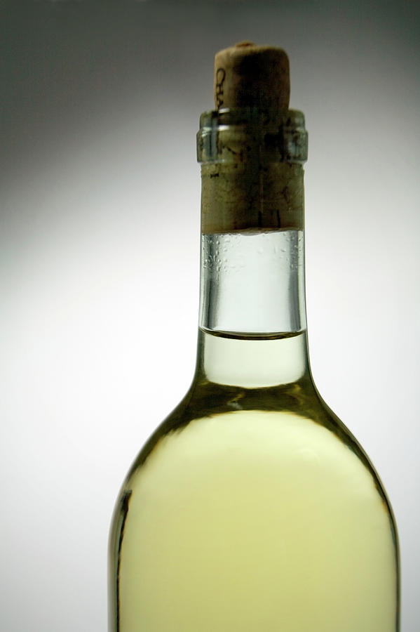 Bottle Of Corked Chardonnay White Wine Photograph by Snap Decision