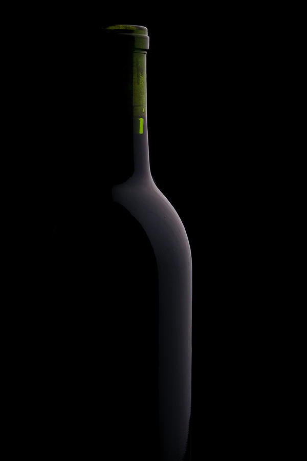 Bottle Of Wine Photograph by Halbergman