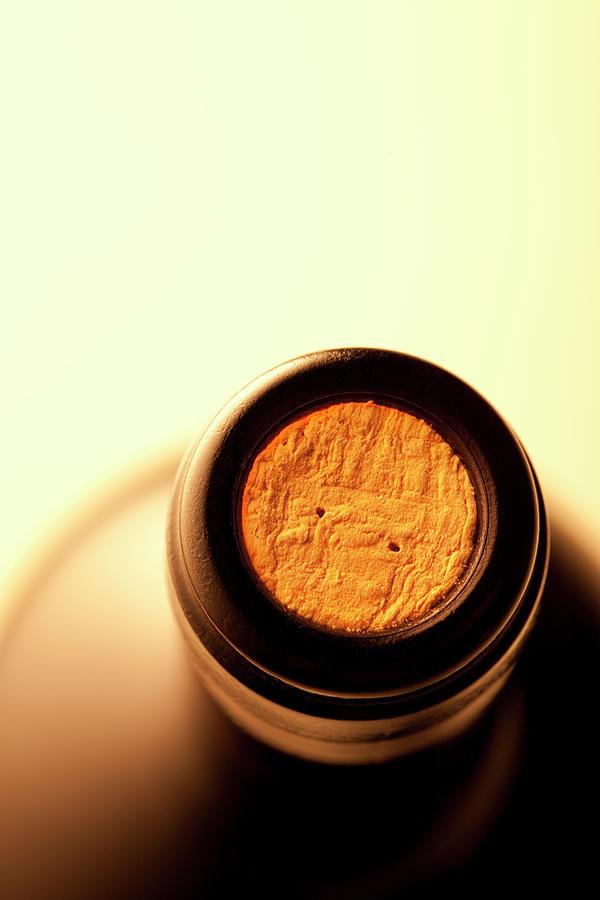 Bottle Of Wine Photograph by Malerapaso