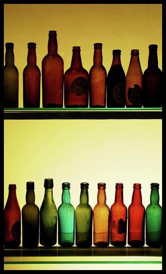 Bottles At Guinness Storehouse, Dublin Photograph by Michal Osmenda