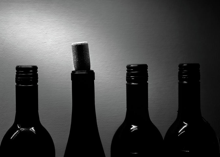 Bottles Noir by Bob Orsillo