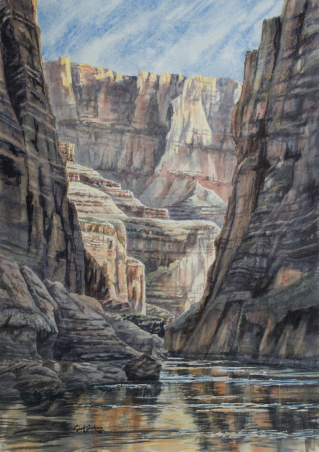 Bottom of the Grand Canyon by Link Jackson