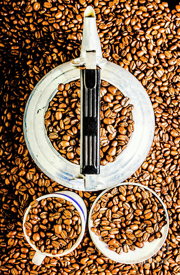 Coffee Photograph - Bottomless Refills by Jorgo Photography - Wall Art Gallery