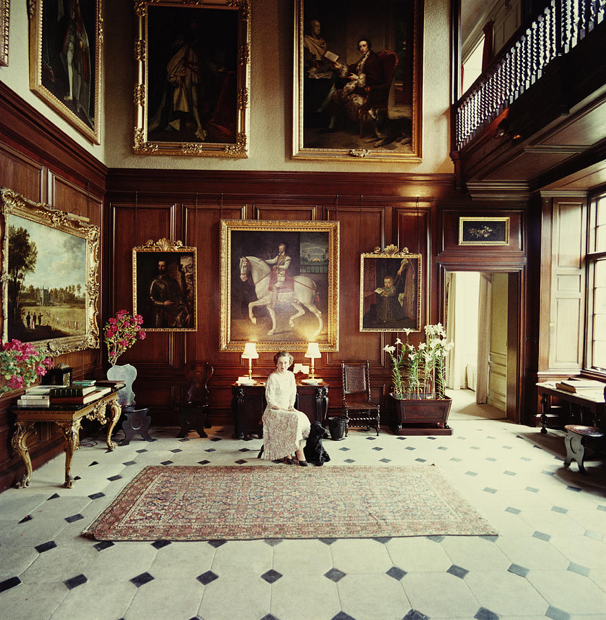 Boughton House Photograph by Slim Aarons