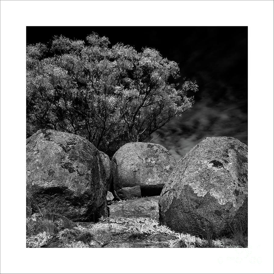 Bouldered Landscape by Russell Brown