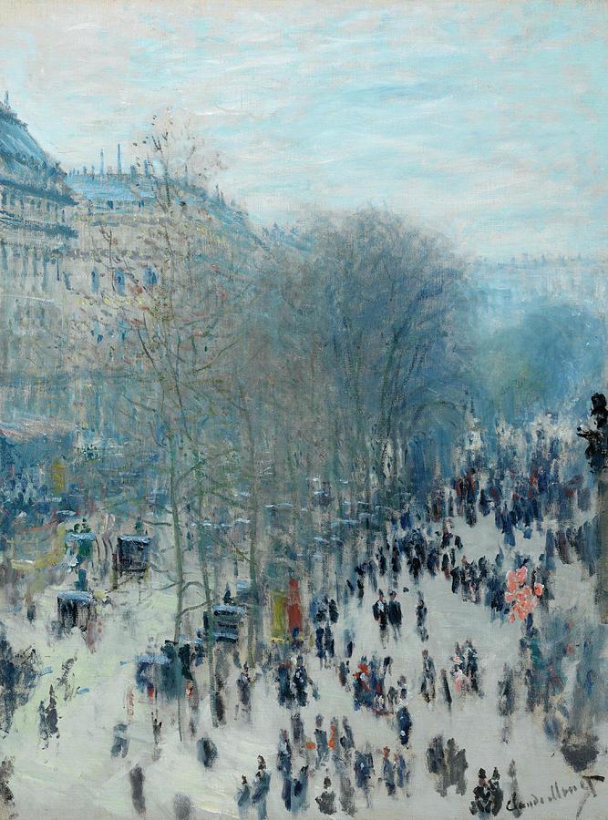 Boulevard Des Capucines by AKG Images