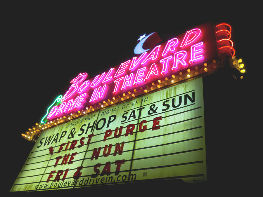 Boulevard Neon by Josh Spengler