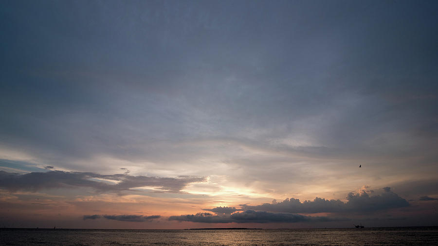 Bountiful Sunset along the Gulf of Mexico by James-Allen