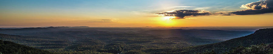 Bountiful Valley of Green - from Mt. Cheaha by James-Allen