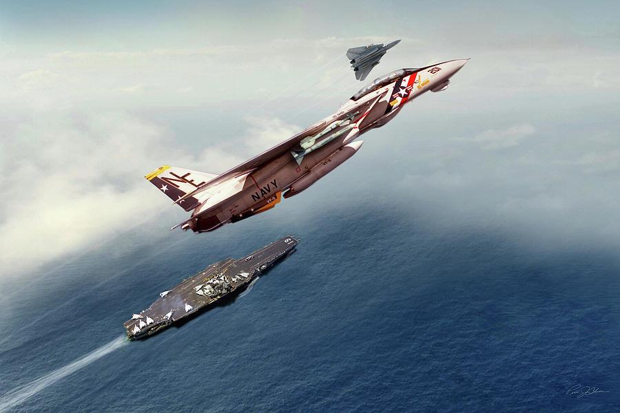 Aviation Digital Art - Bounty Hunters Over Ranger by Peter Chilelli