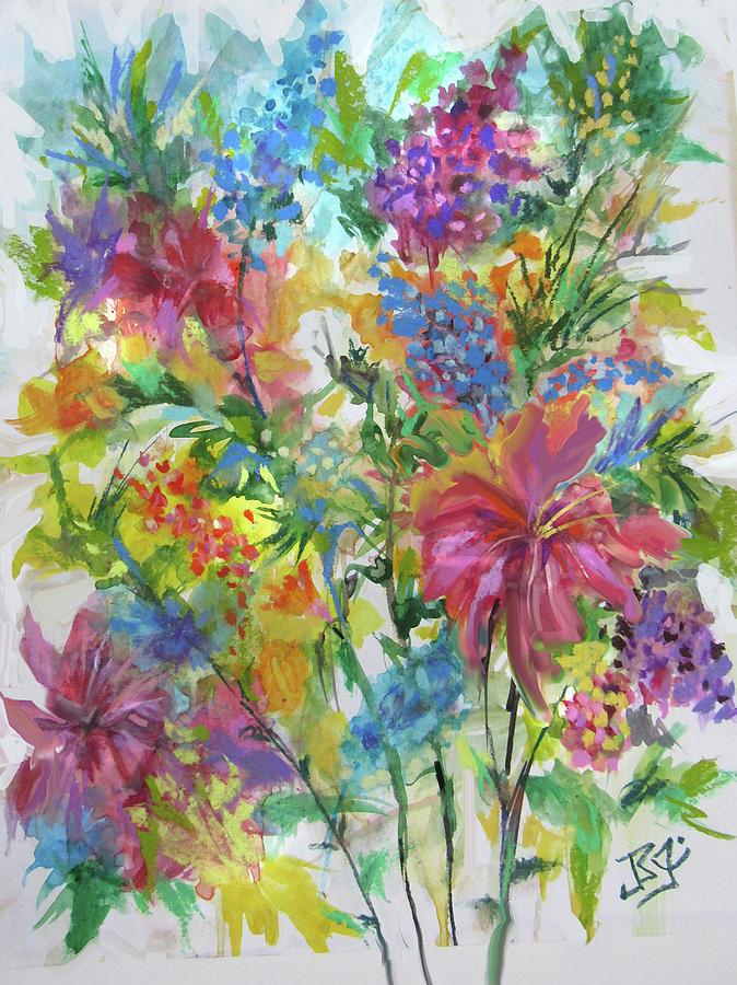 Bouquest #5 by Jean Batzell Fitzgerald