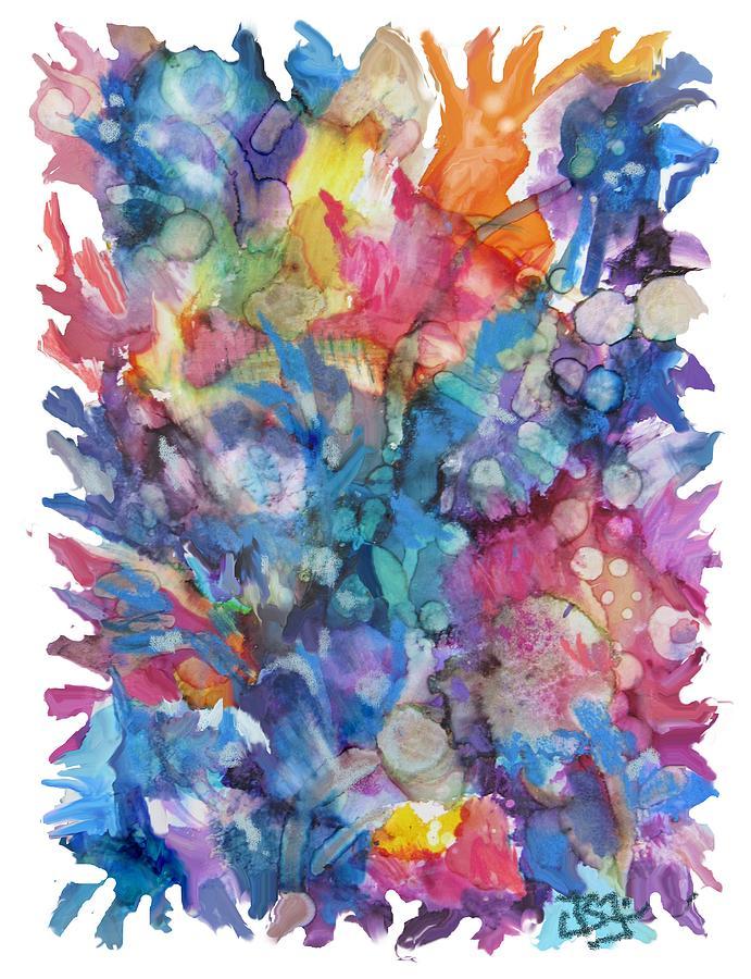 Bouquet-70719 by Jean Batzell Fitzgerald