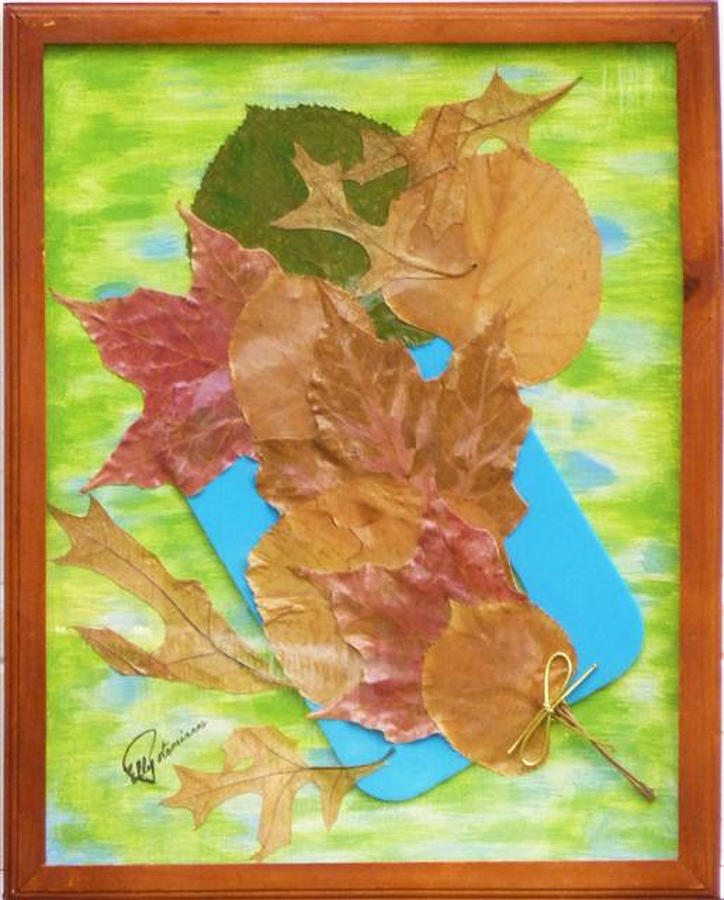 BOUQUET FROM FALLEN LEAVES by Elly Potamianos