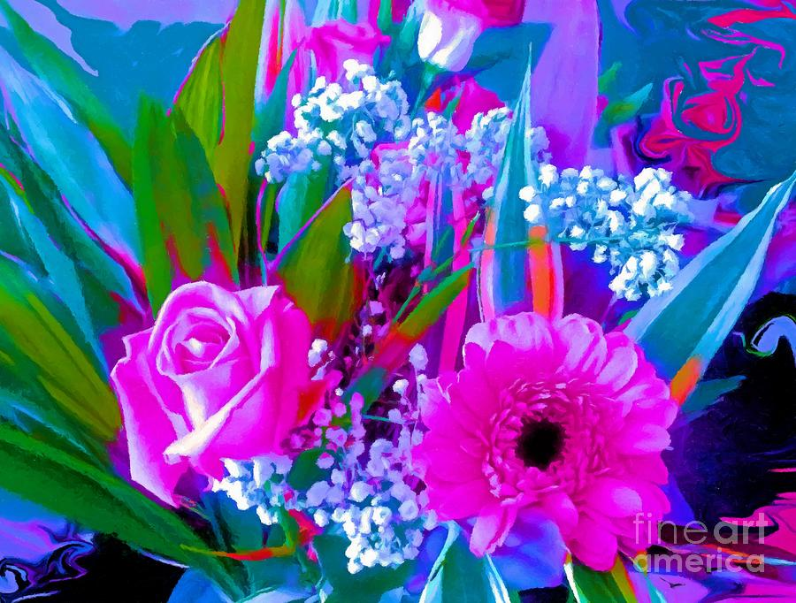 Bouquet in Pinks by Abbie Shores