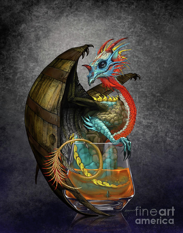 Bourbon Dragon by Stanley Morrison