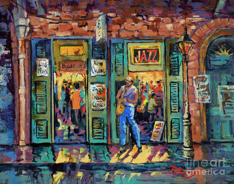 Bourbon Jazz by Dianne Parks