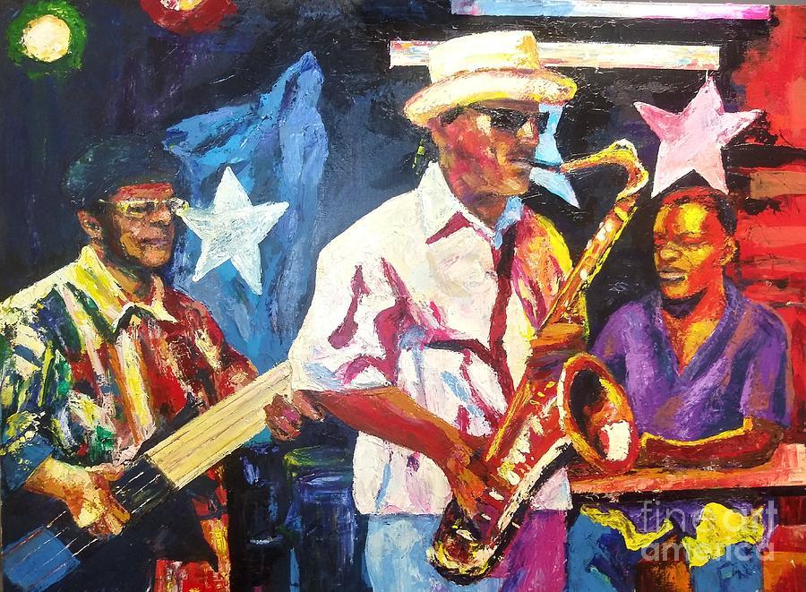 Bourbon Street Blues by Beverly Boulet