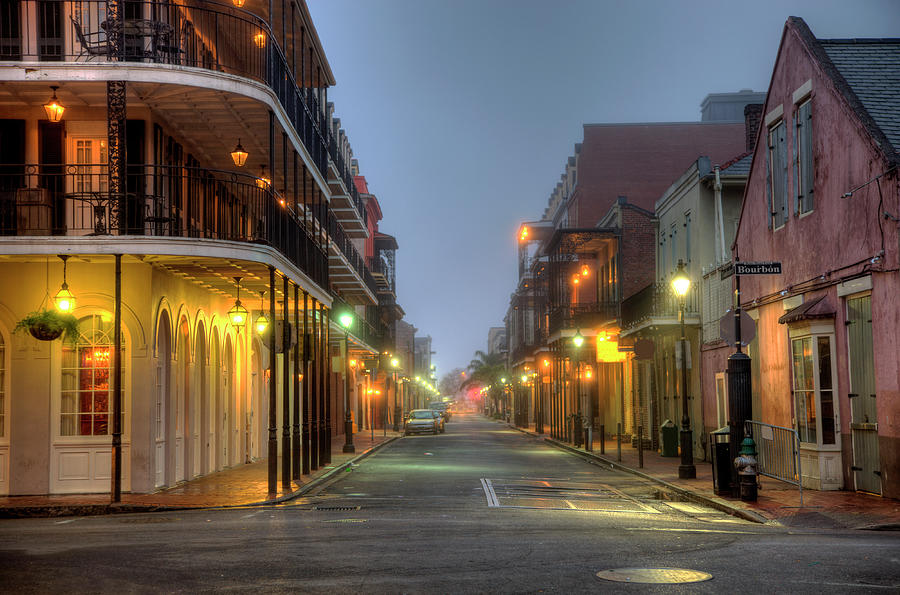 Bourbon Street Photograph by Denistangneyjr