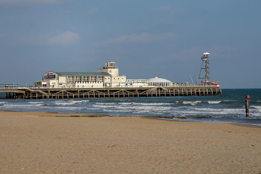 Pier Photograph - Bournemouth Pier 2 by Steev Stamford