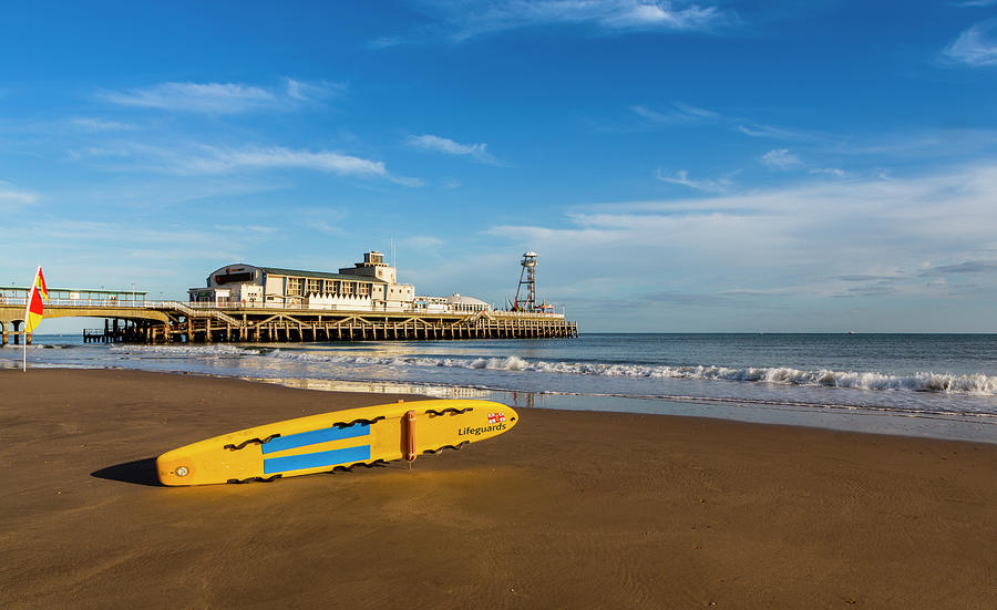 Bournemouth Pier, Dorset, UK by Maggie McCall