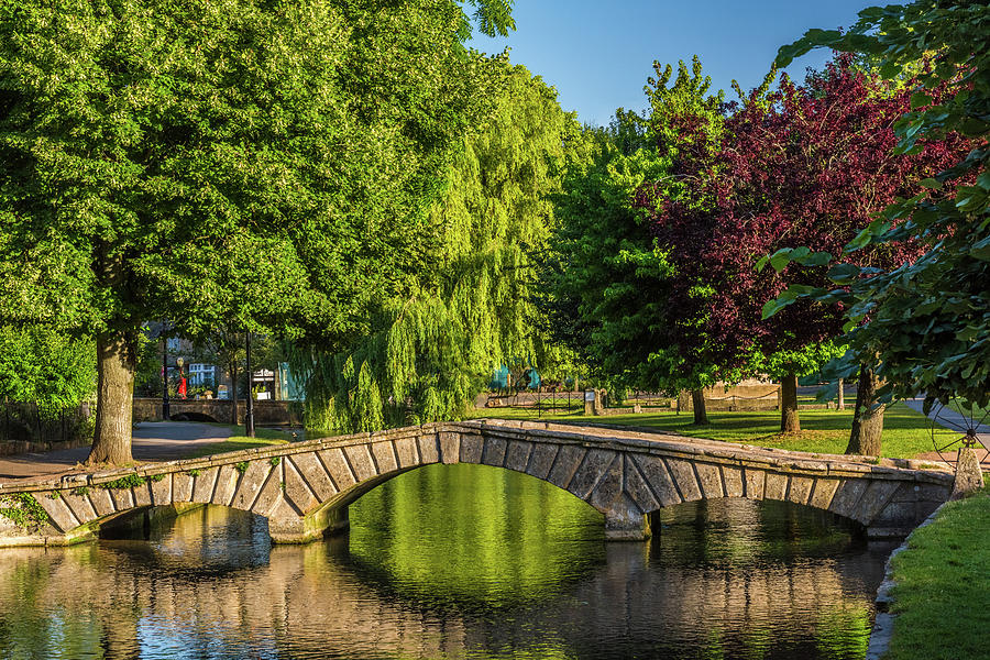 Bourton-on-the-water Photograph - Bourton-on-the-water, Gloucestershire by David Ross