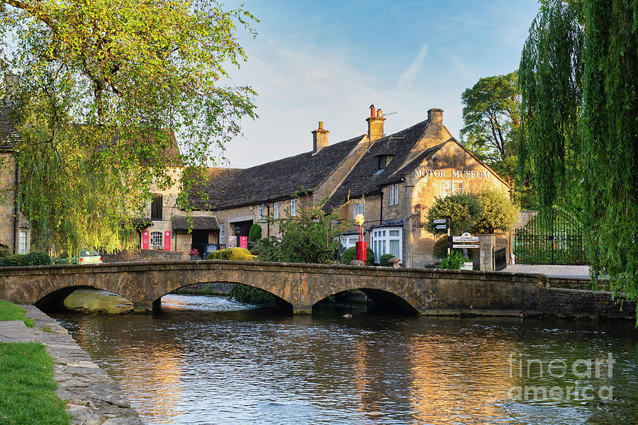 Bourton on the Water Summer Sunrise by Tim Gainey