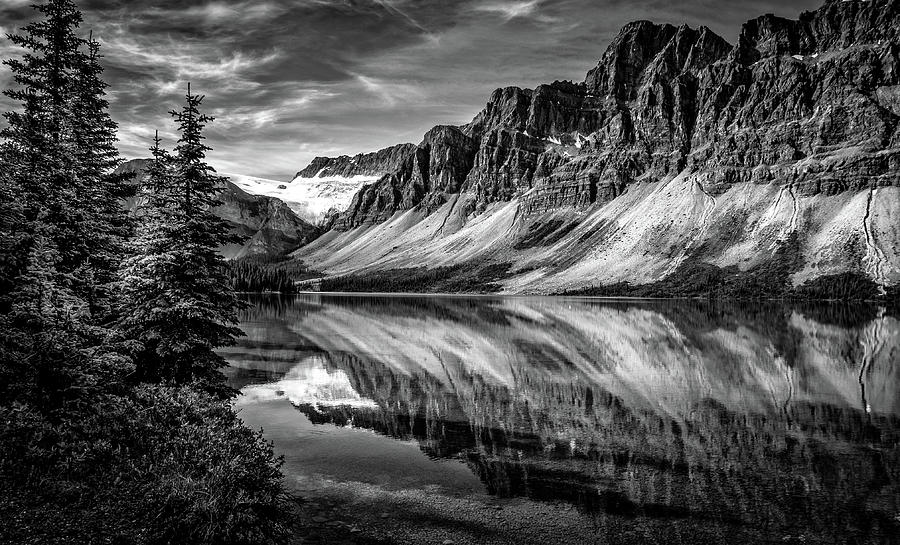 Bow Lake Banff National Park AB Can by Dean Ginther
