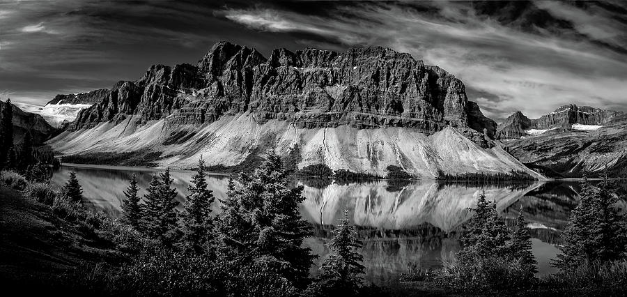 Bow Lake BC by Dean Ginther