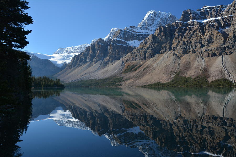 Bow Lake  by Norman Burnham