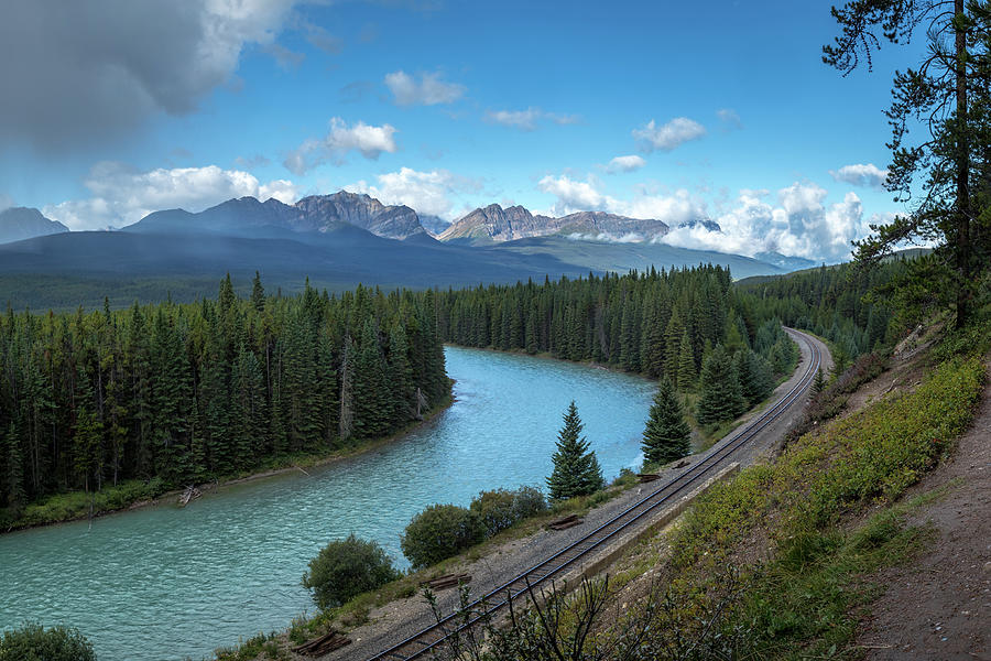 Bow Valley Viewpoint by Andy Konieczny