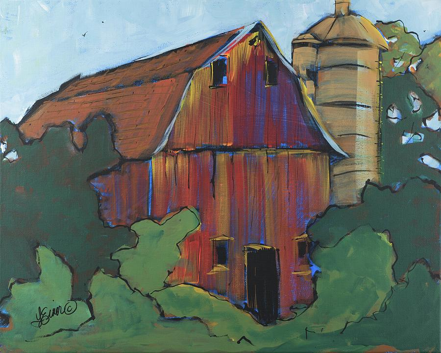 Bowen Street Barn by Terri Einer