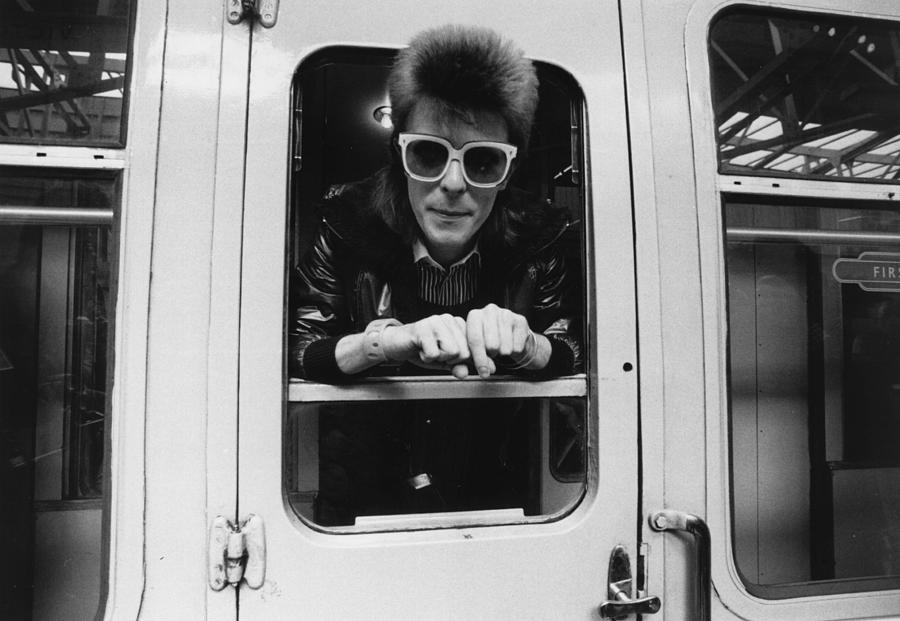 Bowie On The Rails Photograph by Smith