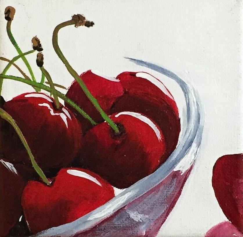 Bowl of Cherries by Sharon Duguay