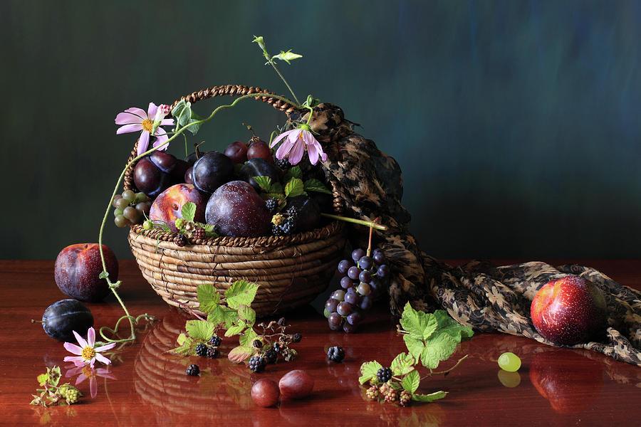 Bowl Of Fruit Photograph by Panga Natalie Ukraine