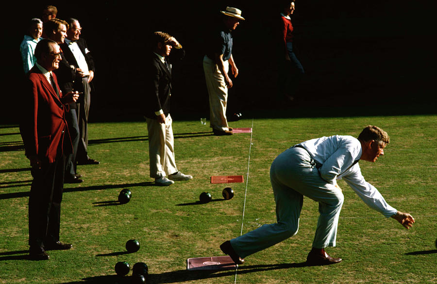 Bowling Green Photograph by Slim Aarons