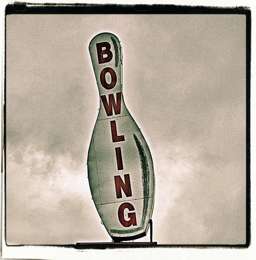 Bowling Photograph by Photograph By Bob Travaglione Fotoedge