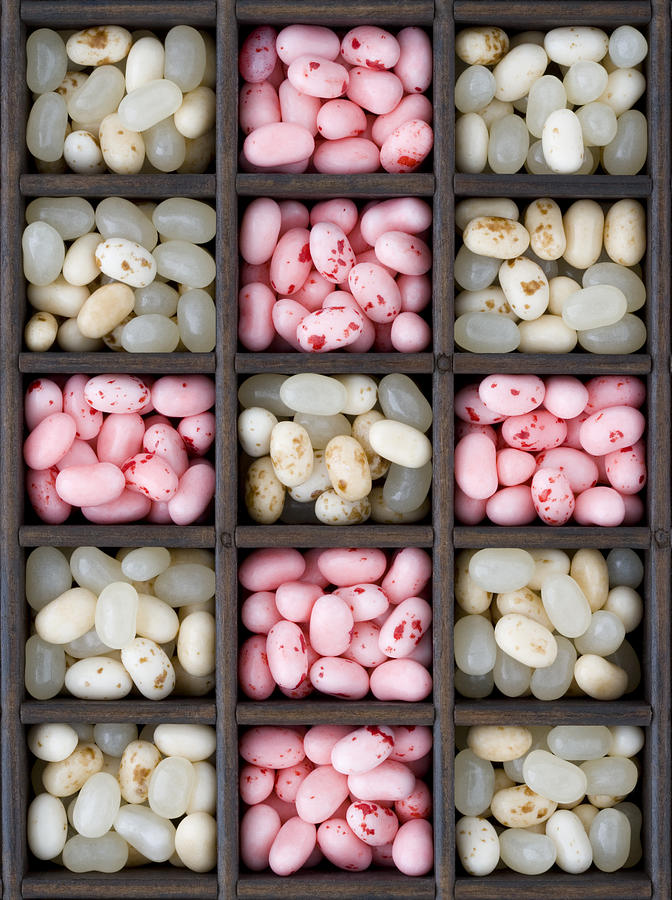 Box Full Of Sweets Photograph by Martin Richardson/a.collectionrf
