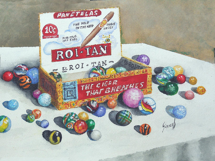 Box Of Marbles by Sam Sidders