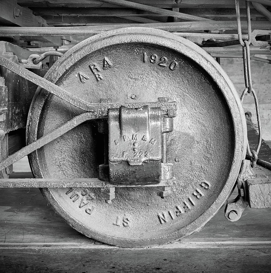 Boxcar Wheel by Jim Hughes