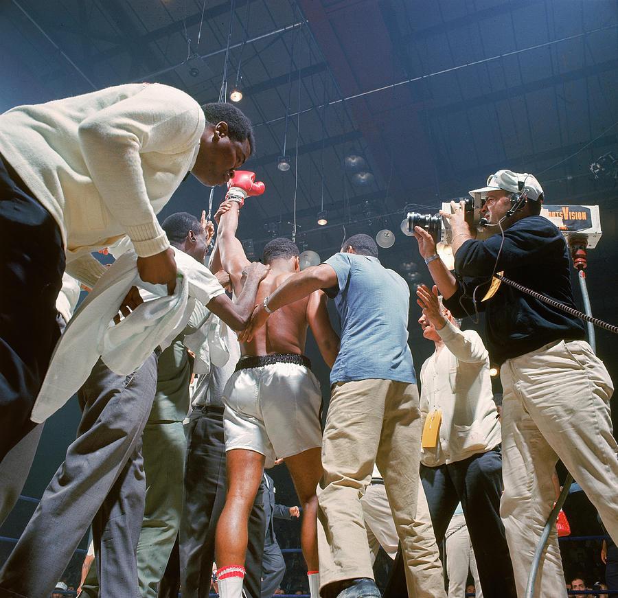 Boxer Cassius Clay, Aka Muhammad Ali Photograph by John Dominis