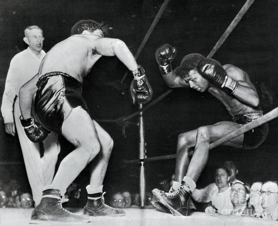 Boxers In Action Photograph by Bettmann
