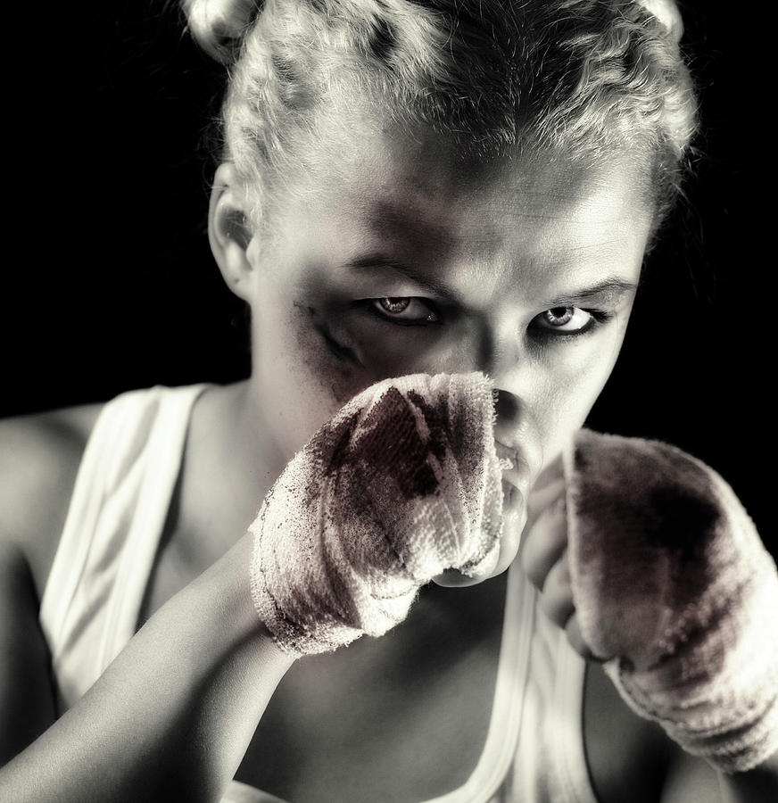 Boxing Girl Photograph by ...