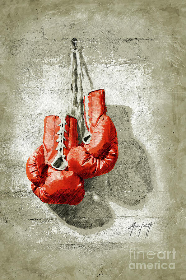 Boxing Gloves  4b by Mauro Celotti