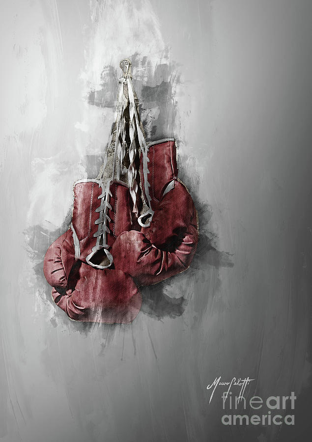 Boxing Gloves 5 by Mauro Celotti