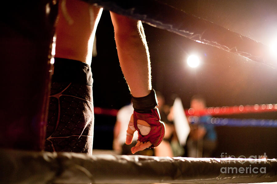 Muscular Photograph - Boxing Match by Aerogondo2