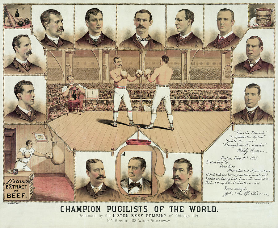 Boxing World Champions 1885